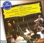 Dvorák: Cellokonzert; Tchaikowsky: Rokoko-Variationen - Mstislav Rostropovich (cello); Berlin Philharmonic Orchestra; Herbert von Karajan (conductor)