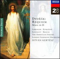 Dvor�k: Requiem; Mass in D - Alan Byers (tenor); Andrew Giles (alto); Erzs�bet Koml�ssy (contralto); Neil Ritchie (treble); Nicholas Cleobury (organ);...