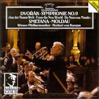 Dvorák: Symphonie No. 9; Smetana: Moldau - Wiener Philharmoniker; Herbert von Karajan (conductor)