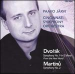"Dvorák: Symphony No. 9 ""From the New World""; Martinu: Symphony No. 2"