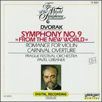 "Dvorak: Symphony No. 9 ""From the New World""; Romance for Violin; Carnival Overture - Miklós Szenthelyi (violin)"