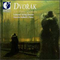 Dvorak: The Piano Quintets - Ann Elliott-Goldschmid (violin); Joanna Hood (viola); Lafayette String Quartet; Sharon Stanis (violin)