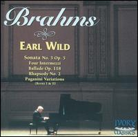 Earl Wild Plays Brahms - Earl Wild (piano)