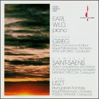 Earl Wild plays Grieg, Säint-Saens & Liszt - Earl Wild (piano)