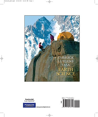 Earth Science, Books a la Carte Edition - Lutgens, Frederick K, and Tarbuck, Edward J, and Tasa, Dennis
