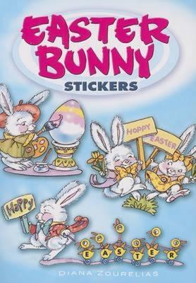Easter Bunny Stickers - Zourelias, Diana