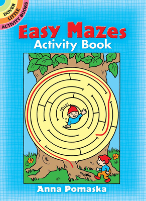 Easy Mazes Activity Book - Pomaska, Anna