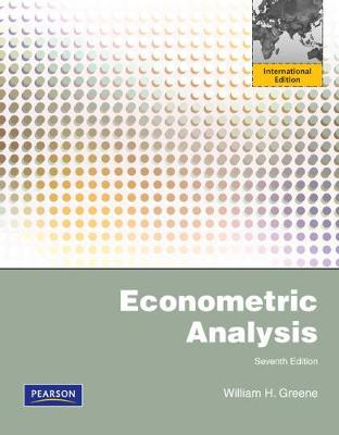 Econometric Analysis: International Edition - Greene, William H.