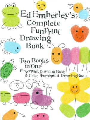 Ed Emberley's Complete Funprint Drawing Book - Emberley, Ed