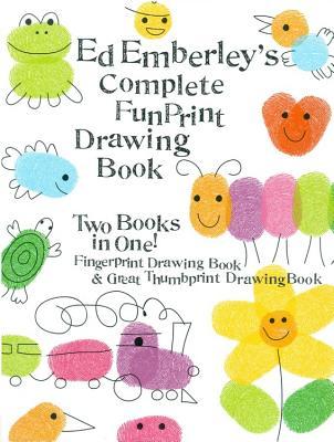 Ed Emberley's Complete Funprint Drawing Book - Emberley, Ed