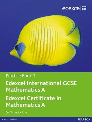 Edexcel International GCSE Mathematics A Practice Book 1 - Turner, D. A., and Potts, I. A.