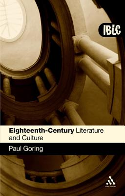 Eighteenth-Century Literature and Culture - Goring, Paul