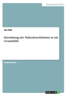 Einordnung Der Nahtodeserlebnisse in Ein Gesamtbild - Pohl, Jan