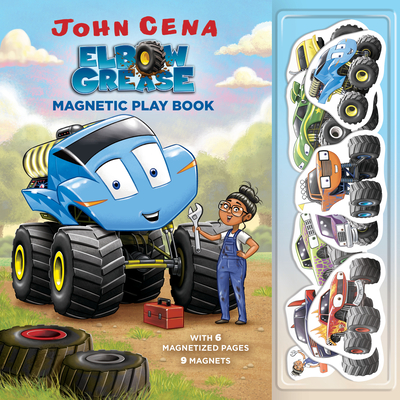 Elbow Grease Magnetic Play Book - Cena, John, and Aikins, Dave (Illustrator)