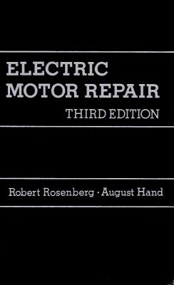 electric motor repair book by robert rosenberg 1
