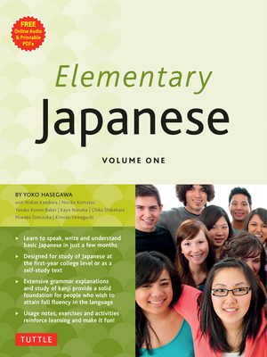 Elementary Japanese: Volume 1 - Hasegawa, Yoko