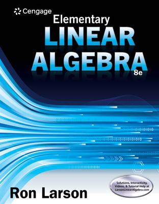 Elementary Linear Algebra - Larson, Ron