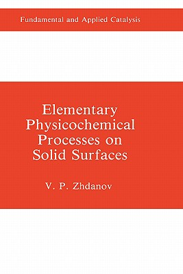 Elementary Physicochemical Processes on Solid Surfaces - Zhdanov, V P