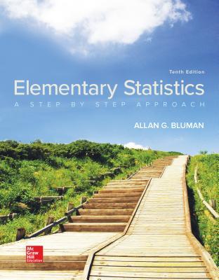 Elementary Statistics: A Step By Step Approach - Bluman, Allan G.