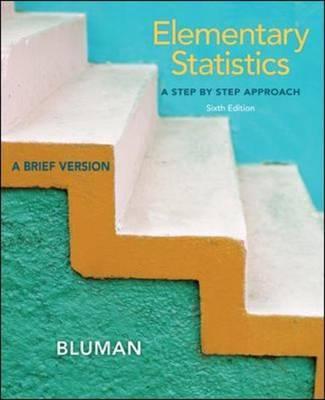 Elementary Statistics - Bluman, Allan G, Professor