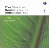 Elgar & Dvorák: Cello Concertos; Bartók: Rhapsody No. 1 - Arto Noras (cello); Finnish Radio Symphony Orchestra