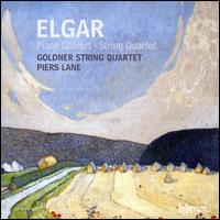 Elgar: Piano Quintet; String Quartet - Goldner String Quartet; Piers Lane (piano)