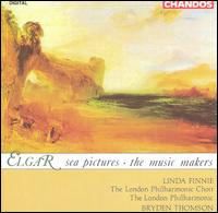 Elgar: Sea Pictures; The Music Makers - Linda Finnie (contralto); Roderick Elms (organ); London Philharmonic Choir (choir, chorus); London Philharmonic Orchestra;...