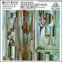 Elliott Carter: Piano Concerto - Barry Green (bass); George Hambrecht (flute); John Sharp (cello); Marna Street-Ramsey (viola); Phillip Ruder (violin);...