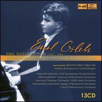 Emil Gilels Edition, 1933 - 1963 - Alexander Korneyev (flute); Elizaveta Gilels (violin); Emil Gilels (piano); Leonid Kogan (violin);...