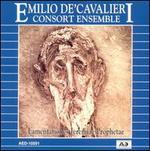 Emilio de' Cavalieri: Lamentationes Jeremiae Prophetae
