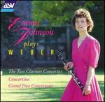 Emma Johnson plays Weber