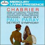 Emmanuel Chabrier: España; Suite Pastorale; Fète Polonaise; Gwendoline Overture; Danse Slave; etc. - Detroit Symphony Orchestra