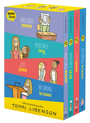 Emmie & Friends 4-Book Box Set: Invisible Emmie, Positively Izzy, Just Jaime, Becoming Brianna -
