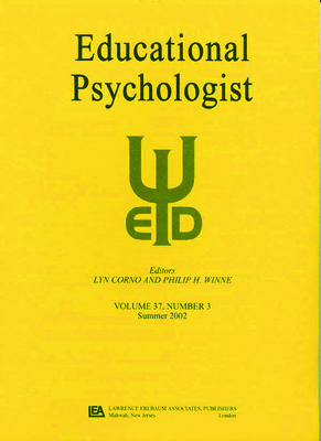 Emotions in Education: A Special Issue of Educational Psychologist - Schutz, Paul A (Editor), and Lanehart, Sonja L (Editor)