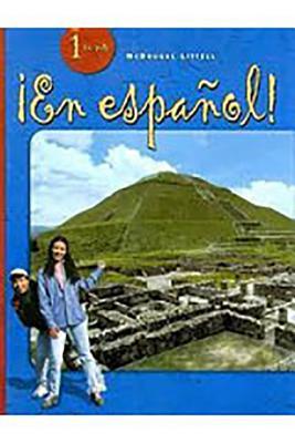 En Espanol! Actividades Para Todos Practica Por Niveles 1 - Houghton Mifflin (Creator)