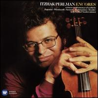 Encores - Itzhak Perlman (violin); Samuel Sanders (piano)