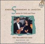 Enescu, Dohnanyi, Janacek: Violin Sonatas