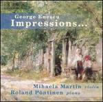 Enescu: Impressions