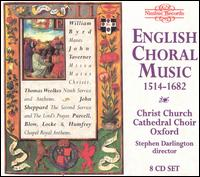 English Choral Music, 1514-1682 - Andrew Carwood (cantor); Andrew Carwood (tenor); Andrew Olleson (counter tenor); Matthew Vine (voices);...