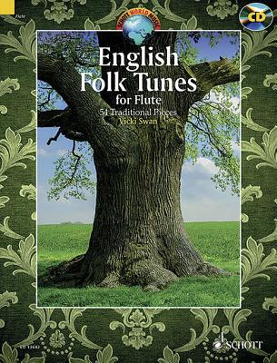 English Folk Tunes for Flute: 54 Traditional Pieces - Swan, Vicki