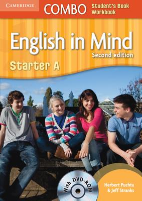 English in Mind Starter A Combo A with DVD-ROM - Puchta, Herbert, and Stranks, Jeff