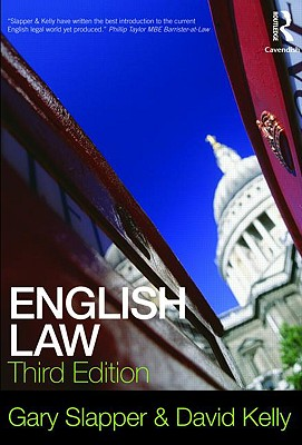 English Law - Slapper, Gary