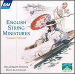 "English String Miniatures: ""Summer Stream"" - Richard Friedman (violin); Royal Ballet Sinfonia; David Lloyd-Jones (conductor)"