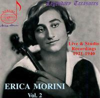 Erica Morini: Vol. 2. Live & Studio Recordings, 1921-1940 - Erica Morini (violin); Michael Raucheisen (piano); New York Philharmonic; Igor Stravinsky (conductor)