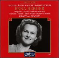 Erna Berger: Liederabend - Erna Berger (soprano); Sebastian Peschko (piano)