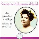 Ernestine Schumann-Heink: Complete Recordings, Vol. 1
