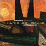 Erno Dohnányi: The Complete Solo Piano Music, Vol. 3