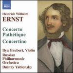 Ernst: Concerto Path�tique; Concertino