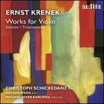 Ernst Krenek: Works for Violin