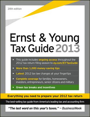 Ernst & Young Tax Guide - Bernstein, Peter W (Editor)